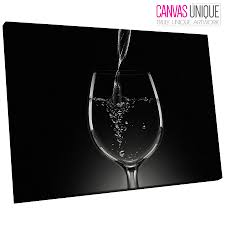 image is loading ab058 black white wine glass abstract canvas wall  on wine canvas wall art uk with ab058 black white wine glass abstract canvas wall art framed picture