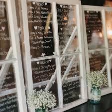 Window Frame Seating Chart Wedding Seating Chart Wedding