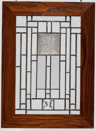 craftsman style stained glass window patterns designs
