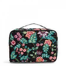 vera bradley iconic large blush brush makeup case in vines fl vendor code
