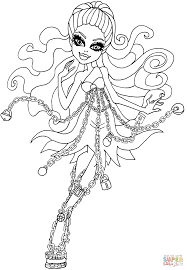 Small Picture Spectra Haunted coloring page Free Printable Coloring Pages