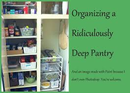 pinning this so that when my pantry is a mess again i will with regard to new home how to organize a deep closet ideas