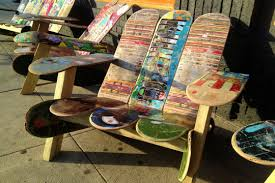 Photo of the Day: Caffeinated Skateboard Chairs