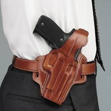 galco fletch concealment paddle holster right hand tan