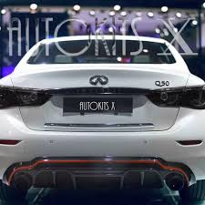 2018 infiniti g37. exellent infiniti 2014  2018 infiniti q50 sedan lhk style rear diffuser in infiniti g37