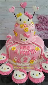 Hello Kitty Birthday Cake Balikpapan Fya Cookies Cake Cupcakes