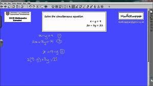 mechanical electrical large size algebraic proof and factorisation igcse gcse as level algebra simultaneous equations