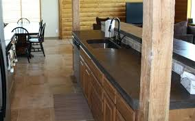 stained concrete countertops that look like wood polished concrete