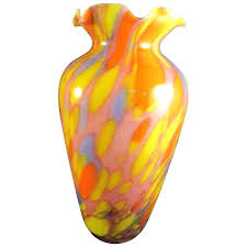 glass bud vases vintage colored glass vases vintage glass vase a liked on featuring home