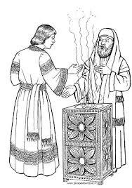Judas Verraadt Jezus Met Een Kus Je Kan Van De Kleurplaat