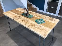 For instance, they can make a space feel more casual by bringing everyone closer together and favoring the interaction between those seated at the table. How To Make A 4 6 Seater Dining Table From Reclaimed Scaffold Boards Friday Ad Blog