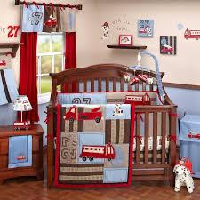 Firefighter Fire Truck Crib Bedding Nursery Decor Nursery Decor