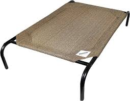 Coolaroo Steel Framed Elevated Pet Bed Nutmeg Chewy