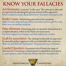Critical Thinking Fallacy  Ad Hominem Example   YouTube     critical thinking fallacies list jpg  Cultural Cognition