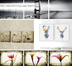 Emily Henderson_Design Mistake_Triptychs_Canvas Art_Round up