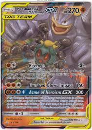 Search based on card type, energy type, format, expansion, and much more. Unbroken Bonds Marshadow Machamp Gx 82 214 Half Art X10 Pokemon Booster Cards Tag Team By Bt Amazon Co Uk Toys Games