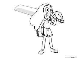 Steven Universe Connie Coloring Pages Printable