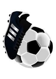 Afbeelding Prent Voetbalschoen En Bal Afb 27716 Images