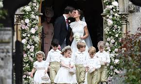 pippa middleton changed into a second dress by pronovias for the