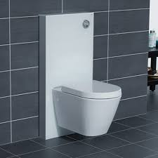 rak obelisk glass wc unit with cistern frame for wall hung toilets