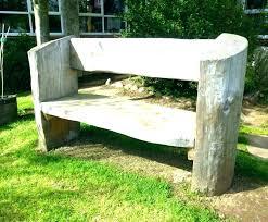 log bench ideas garden benches cedar incredible image design rustic iron outdoor best about elegant outdoor log bench