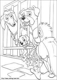 102 dalmatians coloring page 24 is a coloring page from 102 dalmatians coloring book let your children express their imagination when they color the 102