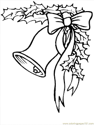 Small Picture Coloring Pages Christmas Bells 2 Cartoons Christmas free