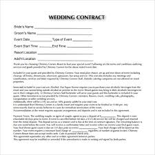 sample pdf wedding contract template wedding catering contract sample