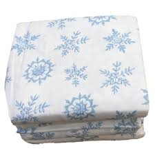blue and white sheets. Delighful Sheets Cuddle Duds Flannel Sheet Set Blue U0026 White Snowflake Queen Bed Sheets  Bedding On And