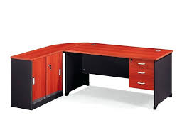 Wooden office table Round Big Tradeindia Large Solid Wooden Desk With Two Big Drawers Office Qblabs