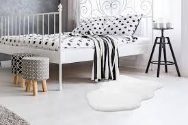 Arte Espina Teppich Rabbit Sheepskin 200 Weiß Fruugo