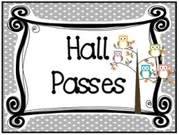 Owl Themed Printable Hall Pass Sign And Hall Passes Classroom Management