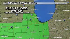 Flash Flood Watch in effect for a good ...