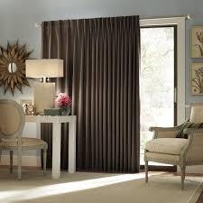 sliding door curtain ideas type