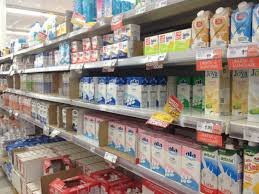 Milk Being Supplied In Tetra Pack And Through Vending Machines Custom As Being Healthy From The Moment