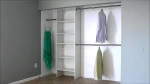 closet shelf and pole image of double closet pole closet pole shelf height closet shelf and closet shelf and pole