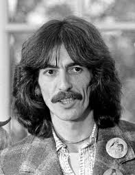 """When they told me they were going to induct my friend George Harrison into the Hollywood Bowl Hall of Fame posthumously, my first thought was – I bet he ... - George_Harrison_1974_edited"