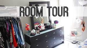 Organizing A Small Bedroom Room Tour Small Bedroom Storage Ideas Youtube