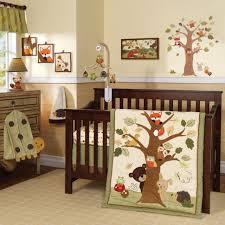 lambs ivy echo 7 piece crib bedding set
