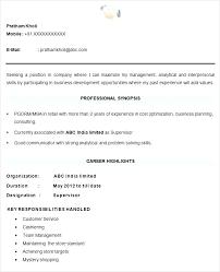 Sample Professional Resume Format Cool Standard Resume Format For Mechanical Engineers Download Sample