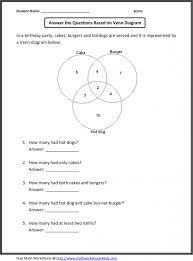 Venn Diagram Problems And Solutions Venn Diagram Probability Worksheet Daytonva150