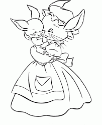 Small Picture Baby Bunny Coloring Pages Coloring Home