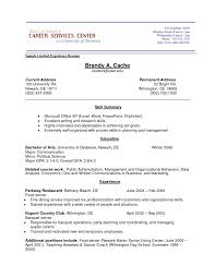 Resume Sample For No Work Experience 13 College First Time With Sa