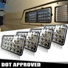 Dot Approved Led Lights 4 Led Work Lights Lamps For Peterbilt Kenworth Dot 4x6 Led