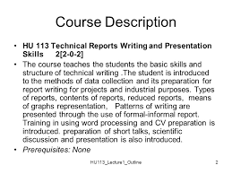 Technical Report Contents    Title