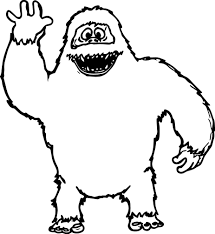 Small Picture Abominable Snowman Coloring Pages Rudolph Snowman Coloring Pages