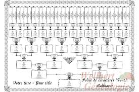 famiy tree printable family tree chart template 6 generations filled with your