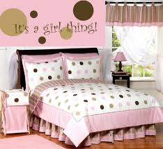 Entrancing Pink And Brown Girl Bedroom For Your Lovely Daughters :  Delectable Pink And Brown Girl