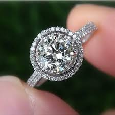 best 25 halo engagement rings ideas