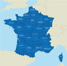 free editable maps map of france french regions royalty free editable base map
